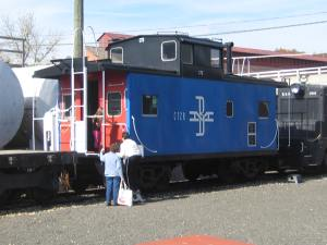 Thomaston Station Caboose 2